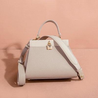 brand Women Bag Genuine Leather Women Messenger bag Luxury Designer Female Fashion Shoulder crossbody bags Real