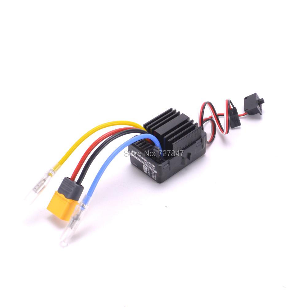 1040 Waterproof Brushed ESC Controller for Hobbywing Quicrun Rc Car Motor hobbywing rc model eagle 20a r c hobby brushed motor esc speed controllers