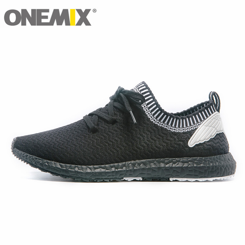 New onemix Fly Socks Running Shoes for Men Women Breathable Mesh Sports Sneakers Wire Outdoor Athletic Top Quality Trainers Thea