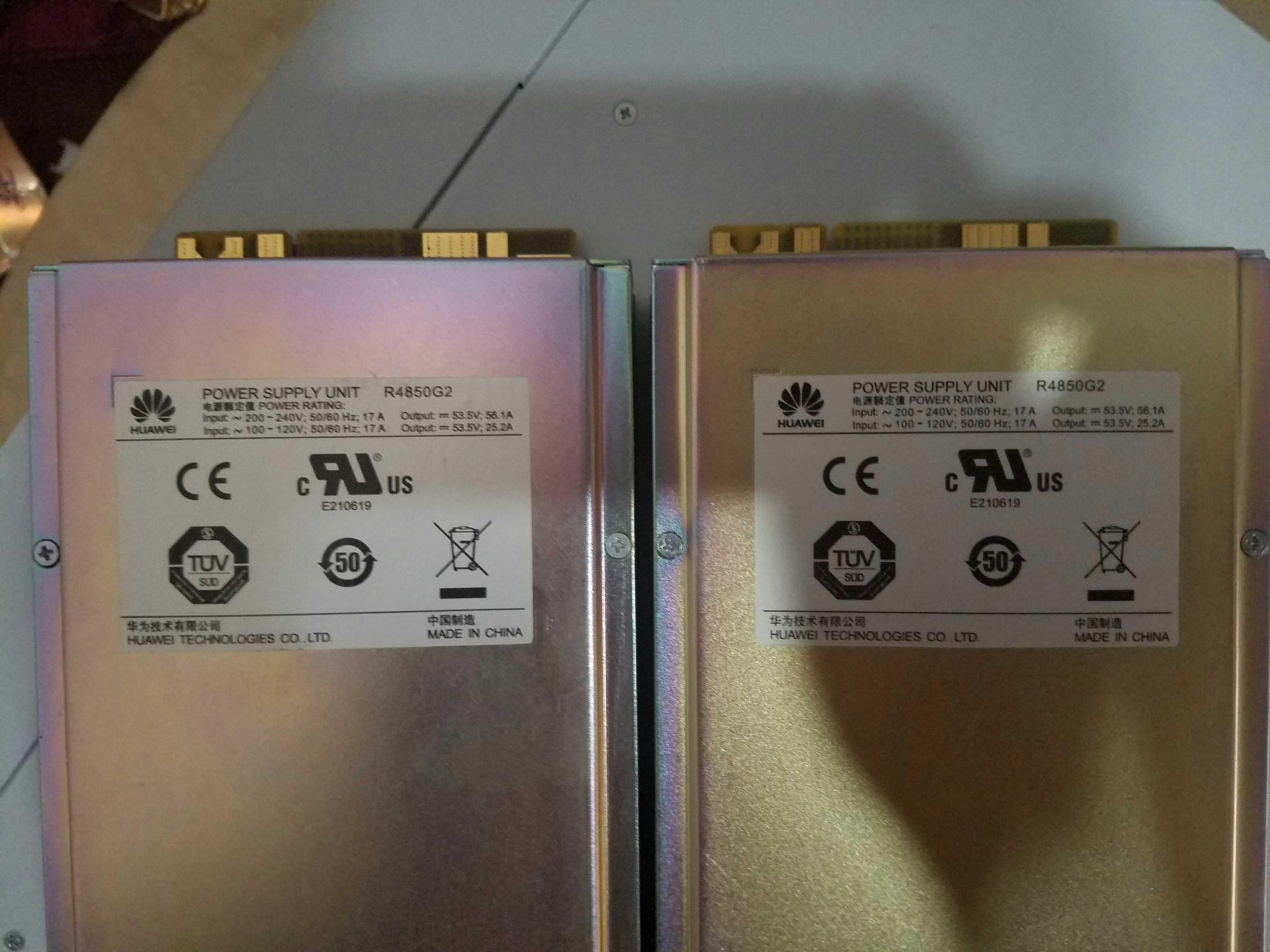 48V/56A R4850G2 SMTE communiction