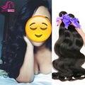 10A Brasileño Onda Del Cuerpo 3 Bundles Queen Hair Products Bhf Productos Para El Cabello Rosa Onda Del Cuerpo Del Pelo brasileño de la Virgen Del Pelo Humano armadura