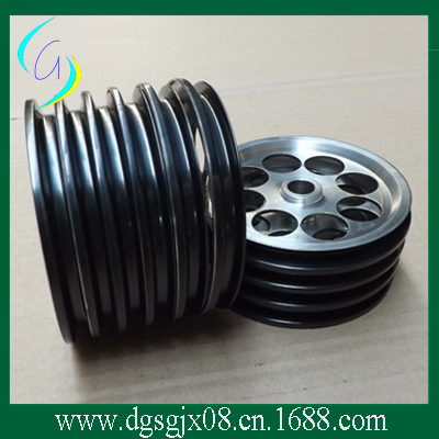 Ceramic Coating wire guide pulley/ cone pilley /roller for fiber and cable industry high precious aluminium guide pulleys capstans with coating ceramic
