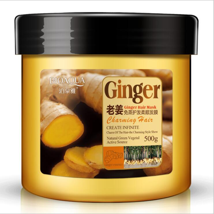 Old Ginger Hair Conditioner Hair Care Products Steam Hair Mask Treatment Anti Dandruff Oil Control Nourish