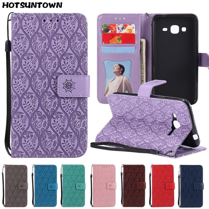 Galleria fotografica For Fundas Samsung Galaxy J3 Case 2016 Samsung Galaxy J3 2016 Case Flip Cover For Capa Samsung J3 2016 Leather Wallet Phone Case