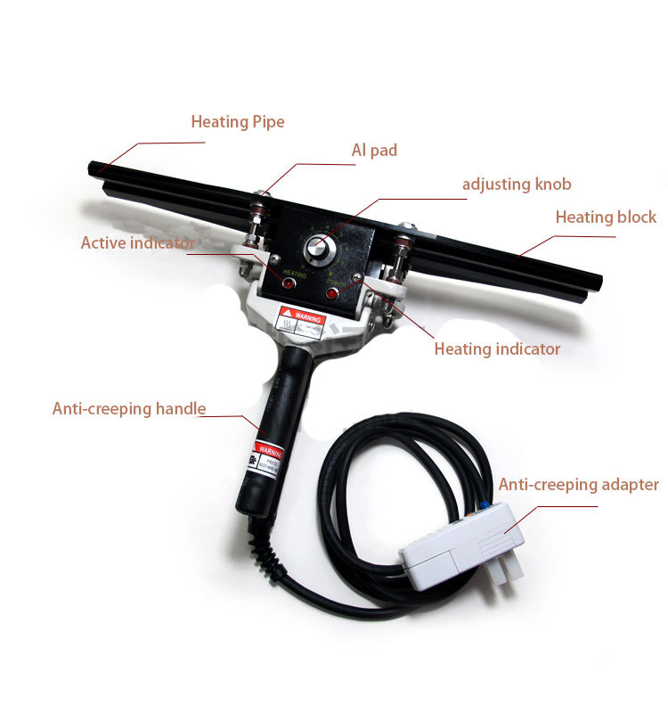 1pcs FKR200 impulse heat sealing machine to Almumin foil bag sealer handy packaging equipment electric tool все цены