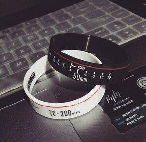 Image 5 - Yeni Kamera Lens Bilezikler Fotoğrafçı Silikon Bilezik Bilekliği Lens Zoom Sürünme canon nikon DSLR Kamera 9 çeşit SıCAK SATıŞ