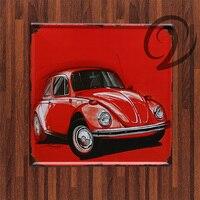 US Route 66 Vintage Car Motor Metal Sign Tin Sign Bar Pub Cafe Garage Decorative Metal
