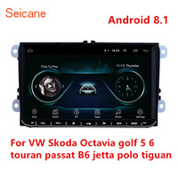 Seicane 2Din GPS 9 Car Android 8.1 Multimedia Player for VW/Volkswagen/Golf/Polo/Tiguan/Passat/b7/b6/SEAT/leon/Skoda/Octavia