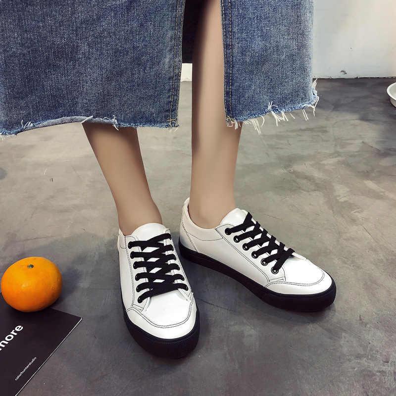 27f4bd772 Подробнее Обратная связь Вопросы о Женская обувь, коллекция 2018 года, весна  осень, новая Вулканизированная обувь, лоферы, дышащие Нескользящие кроссовки,  ...