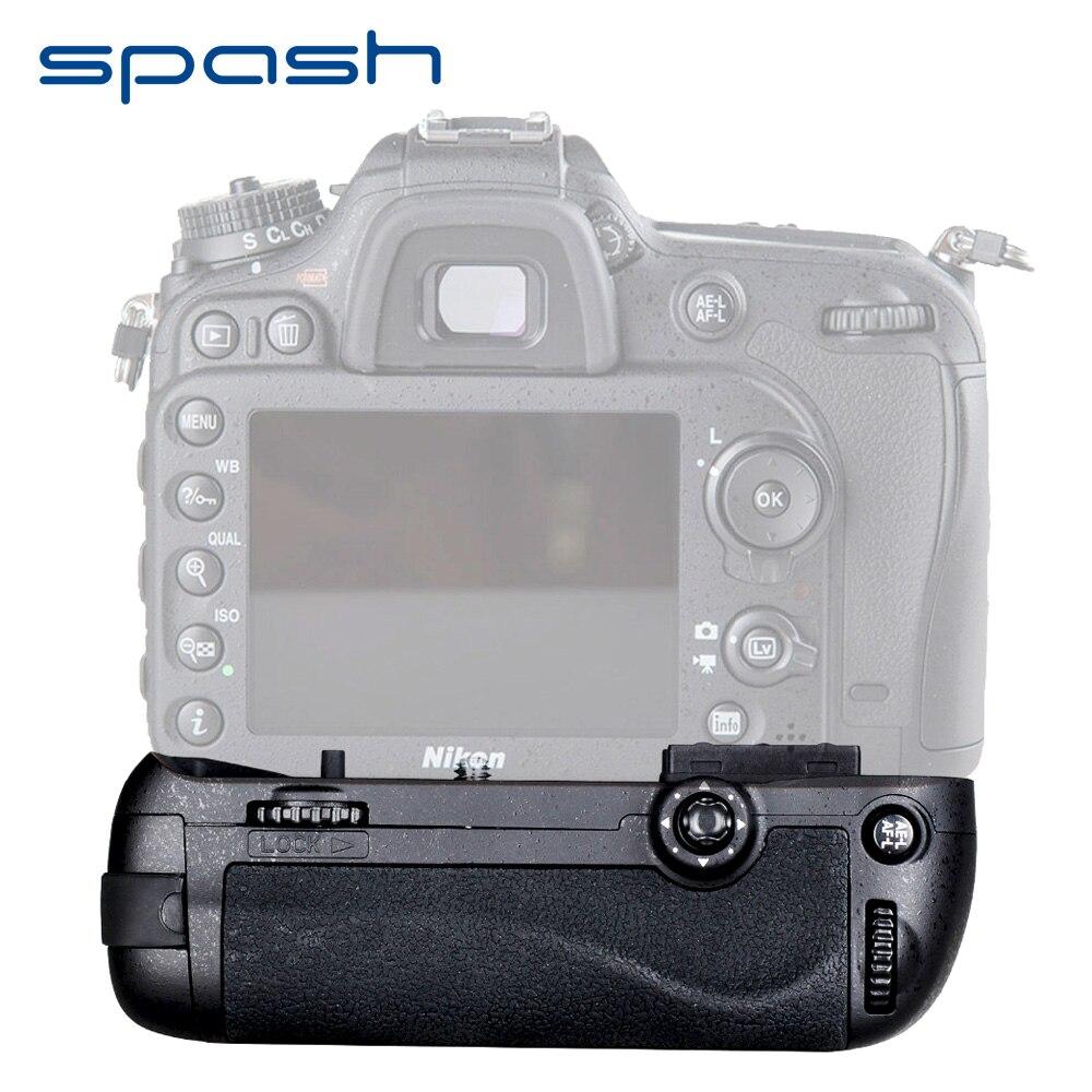 Spash Multi-power Punho de Bateria Vertical para Nikon D7100 D7200 Trabalho com EN-EL15 MB-D15 DSLR Camera Substituição