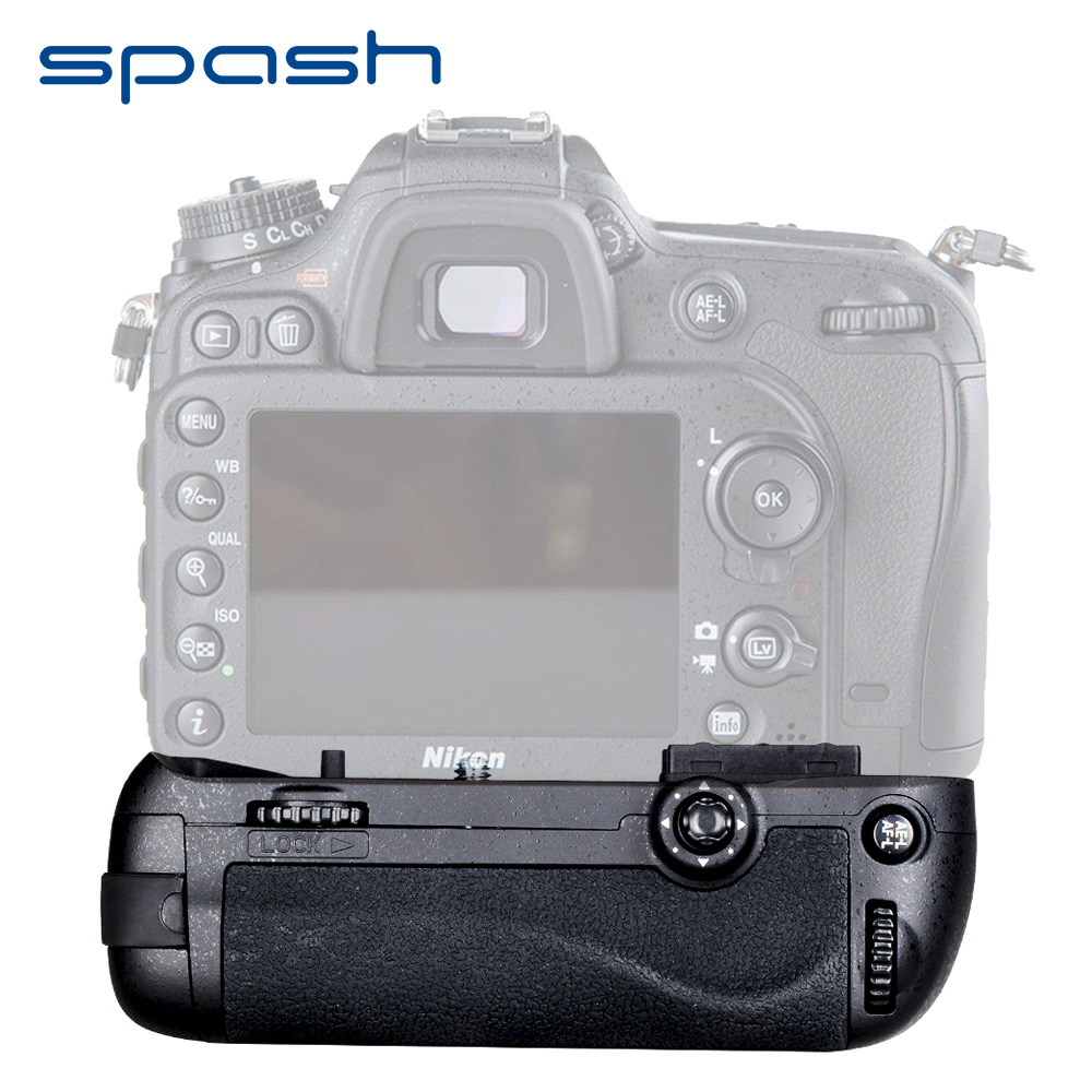 spash Multi power Vertical Battery Grip for Nikon D7100 D7200 DSLR Camera Replacement MB D15 Work with EN EL15
