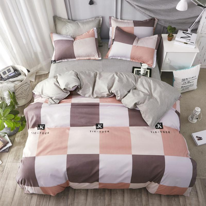 Home Textile  4pcs Bedding Sets Fashion Casual Bed Linen Quilt/duvet Cover Bed SheetHome Textile  4pcs Bedding Sets Fashion Casual Bed Linen Quilt/duvet Cover Bed Sheet