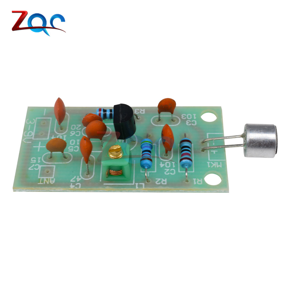Fm Transmitter Module Mini Wireless Microphone Ham Radio Frequency How Do I Calculate The Of An Circuit Pcb Board 91 103mhz 3v 5v Dc For Diy In Instrument Parts Accessories From Tools On