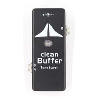 Mosky Clean Buffer Guitar Effect Pedal Mini Tone Saver Effect Pedal Full Metal Shell Guitar Parts & Accessories
