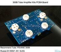 Ống Khuếch Đại Bộ Dụng Cụ PCBA Board 300B Steteo Power Stage 6SN7 Preamp 5U4G Chỉnh Lưu HIFI Âm Thanh DIY