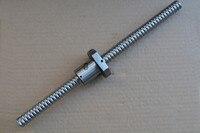 diameter 25mm ball screw SFU2510 length 1800mm plus RM2510 2510 ball nut CNC DIY Carving machine 1pcs|screw screw|screw machine|screws 25mm -