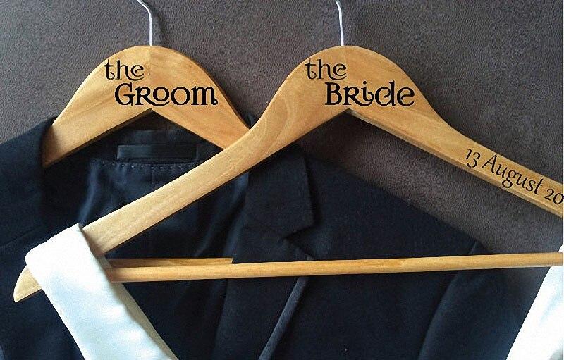 Envío libre percha Personalizada novia dama de honor de la boda del ...