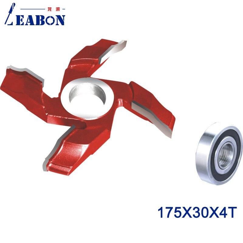 LEABON Door Cutter Head For Wood Cutting TCT Planer Cutter 175 30 4T