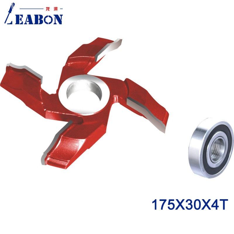LEABON Door Cutter Head  For Wood Cutting TCT Planer Cutter   175*30*4T