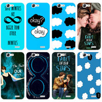 G320 The Fault In Our Stars Tfios Transparent Hard Thin Skin Case Cover For Huawei P8 P9 P10 Lite Plus 2017 Honor 8 Lite 9 6X