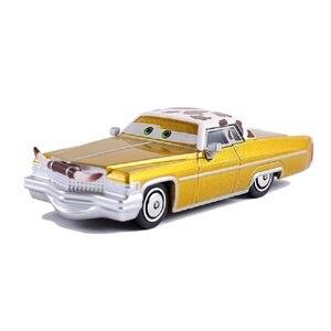Image 1 - Samochody disney pixar 3 samochody 2 Tex Dinoco Metal odlewana zabawka samochód 1:55 zygzak mcqueen luźne Brand New w magazynie bezpłatna wysyłka