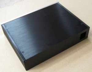 Image 2 - 2806 الكامل الألمنيوم المضخم الضميمة/حالة dac/للصوت الهيكل أمبير مربع