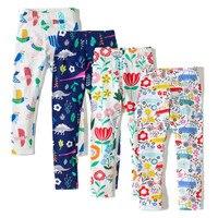 Baby Girls Leggings 2017 Brand Girls Long Pants Kids Clothes 100 Cotton Skinny Cotton Children Trousers