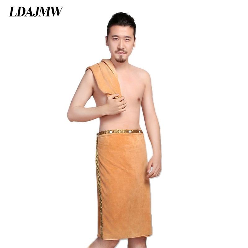 LDAJMW 2ks / sada 70 x 140cm ručníky na rukavice pro pánské nošení rychlé sušení velké tlusté měkké ručníky plážové lázně koupelna s utěrkou na obličej