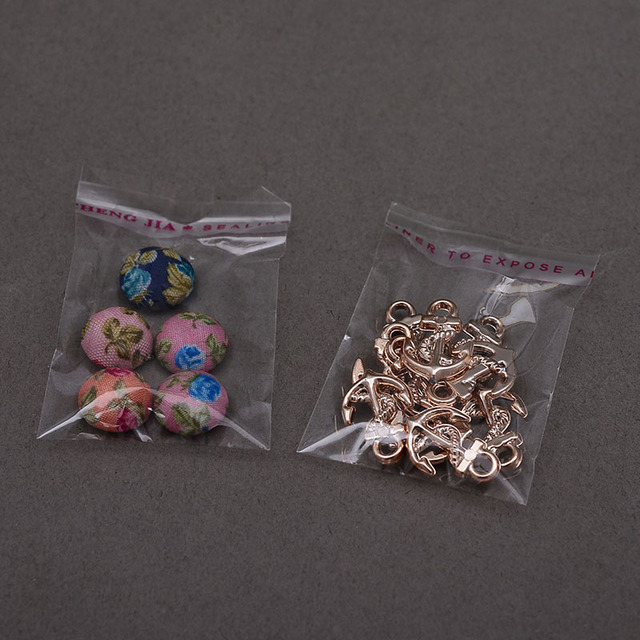 LBSISI Life 200pcs Small Size Clear Self Adhesive Bags Plastic Opp Bag For Candy Cookie Jewelry Packing Resealable Packaging Bag