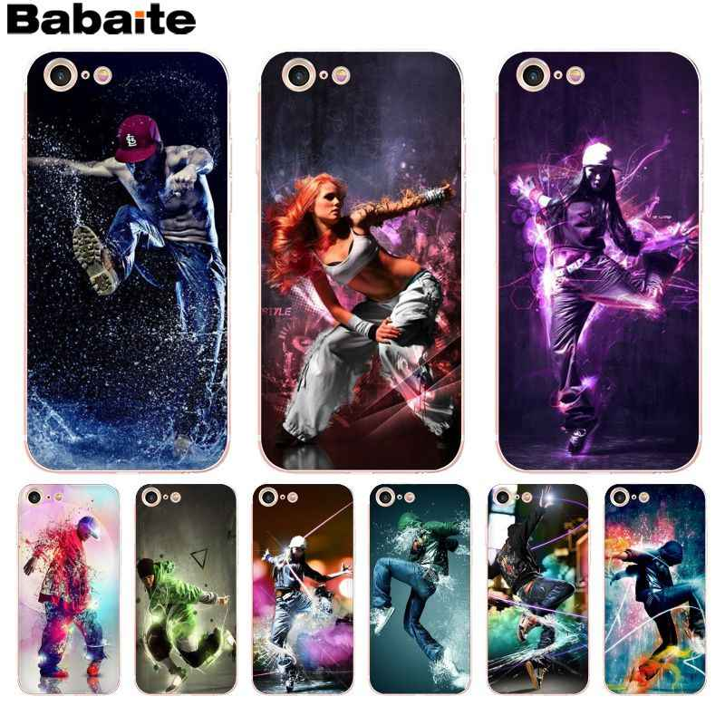 Babaite Mooie street dance hip hop Nieuwe Hoge Kwaliteit Multi telefoon case voor Apple iPhone 8 7 6 6S plus X XS max 5 5S SE XR