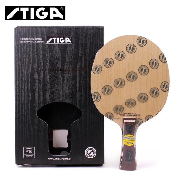 STIGA Infinity VPS V 5 lame De Ping-Pong (bois 5 plis, utilisé par Fan Zhendong) raquette De Ping-Pong