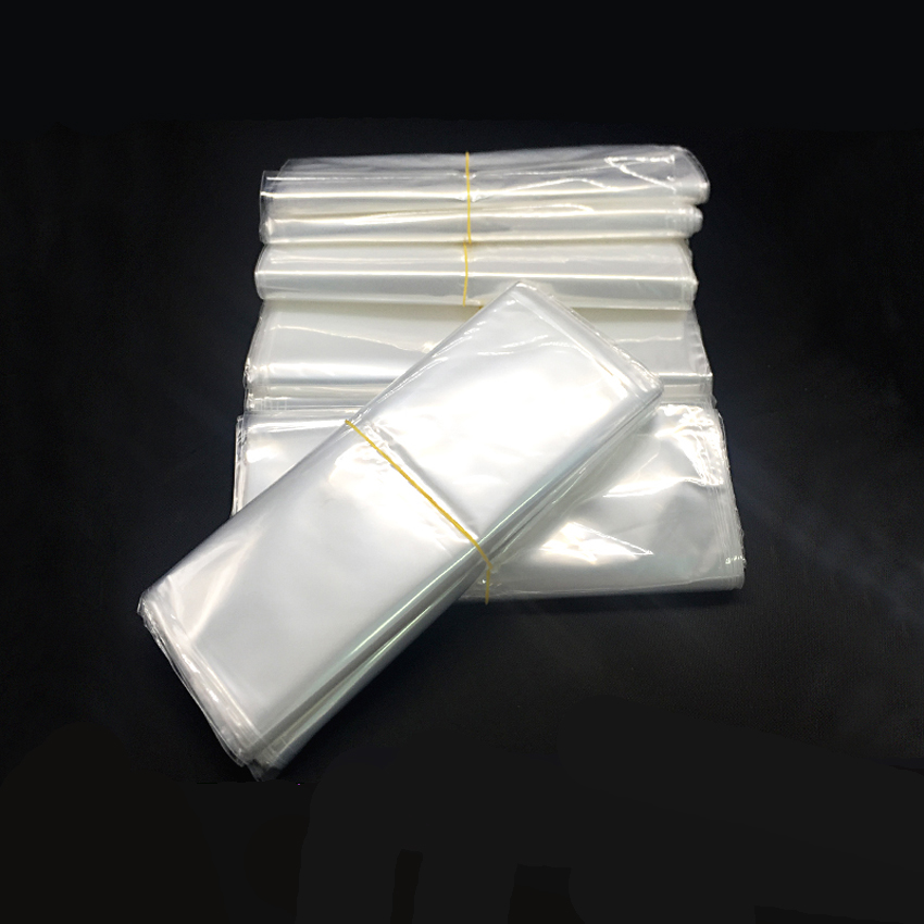 300pcs Small Clear Transparent Shrink Wrap Package Heat