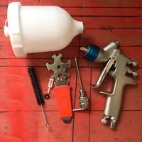SAT0080 auto paint sprayers compressor de pintura pistolet lakiernicy car painting airbrush nozzle spray gun gravity feed gun