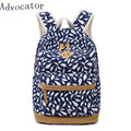 "Advocator Large Capacity Backpack for Teenage Girls Floral Printing School Bag Multifunction 14""Laptop Women Backpacking Bag"