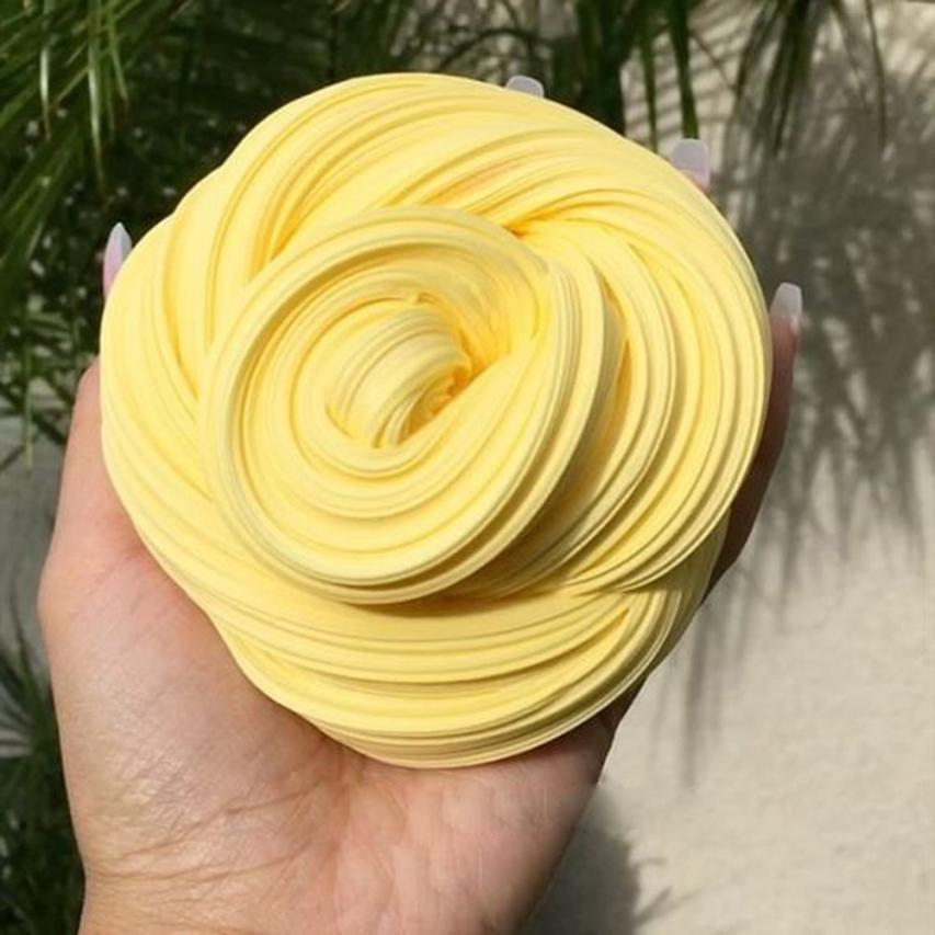 Strict Chamsgend Toy Plasticine Fluffy Floam Slime Scented Stress Relief Toy No Borax Kids Sludge Soft Plasticine Toys Ap5 Pure Whiteness Learning & Education
