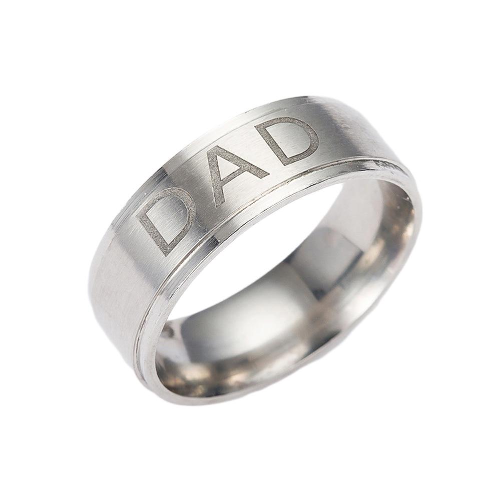 HTB1NXicOVXXXXbyaFXXq6xXFXXX4 - Real Dad Titanium Steel Ring