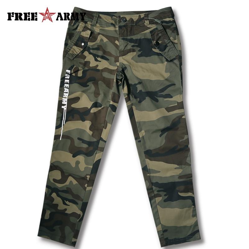 Women Pants Spring Jean Capris Cotton+Spandex Military Camo Leisure Pants Women Bottoms Summer Joggers Sportwear Trousers Pants
