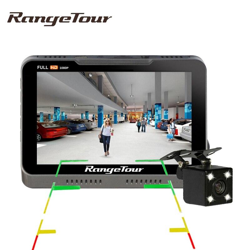 Gamme Tour Double Lentille Tableau de Bord B90s Plus Voiture Caméra DVR Full HD 1080 P 170 Degrés Dash Cam avec 4 LED Arrière Caméra Vidéo Enregistreur