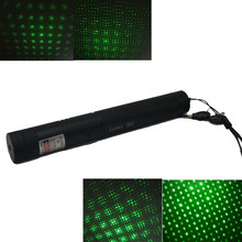 5mW Laser Pointer High Power 532nm 303 Green Laser Pointer Pen Adjustable Burning Match Without 18650 Battery(China)