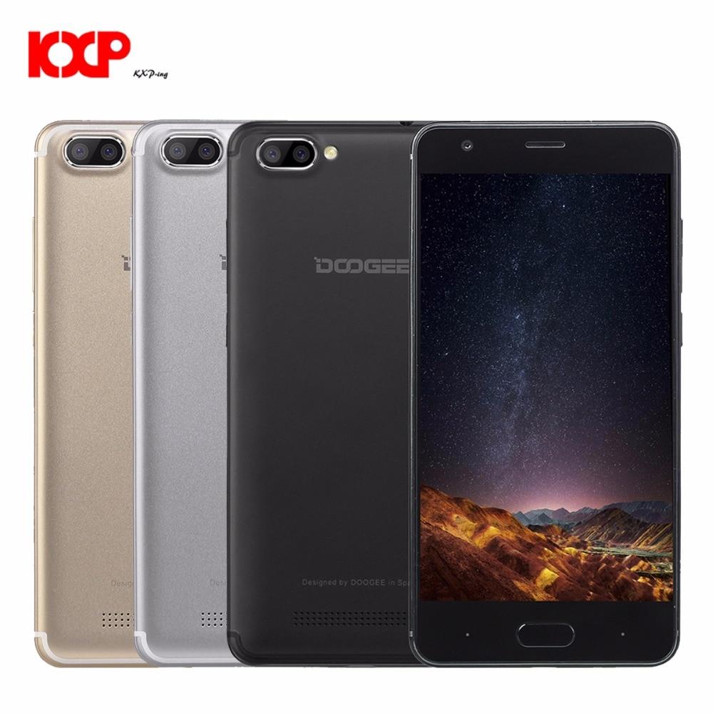 DOOGEE X20 3G Smartphone Android 7.0 5,0 zoll MTK6580 1,3 GHz Quad Core 2 GB RAM 16 GB ROM 5.0MP Dual Hinten Kameras