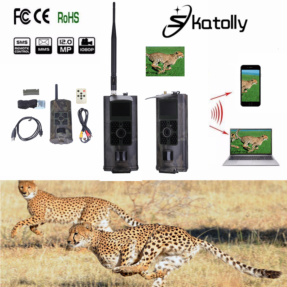 Skatolly HC700G Hunting Trail Camera HC-700G Full HD 16MP 1080P Video Night Vision 3G MMS GPRS Scouting Game+Free shipping! free shipping ip56 waterproof mms gprs night vision trail game hunting camera 0 2s shooting time three sensors cam