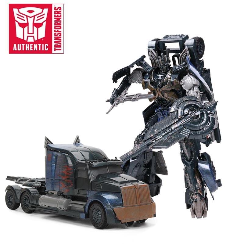 Transformateurs le dernier chevalier ombre étincelle sombre Optimus Prime PVC figurine Collection modèle poupée jouets première édition