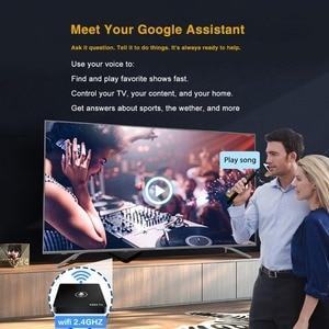 Image 5 - Google TV Box A95X Pro 2G 16G Smart Android 7,1 TV Box Voice Control Amlogic S905W WiFi LAN media Player PK X96mini X96 Mini