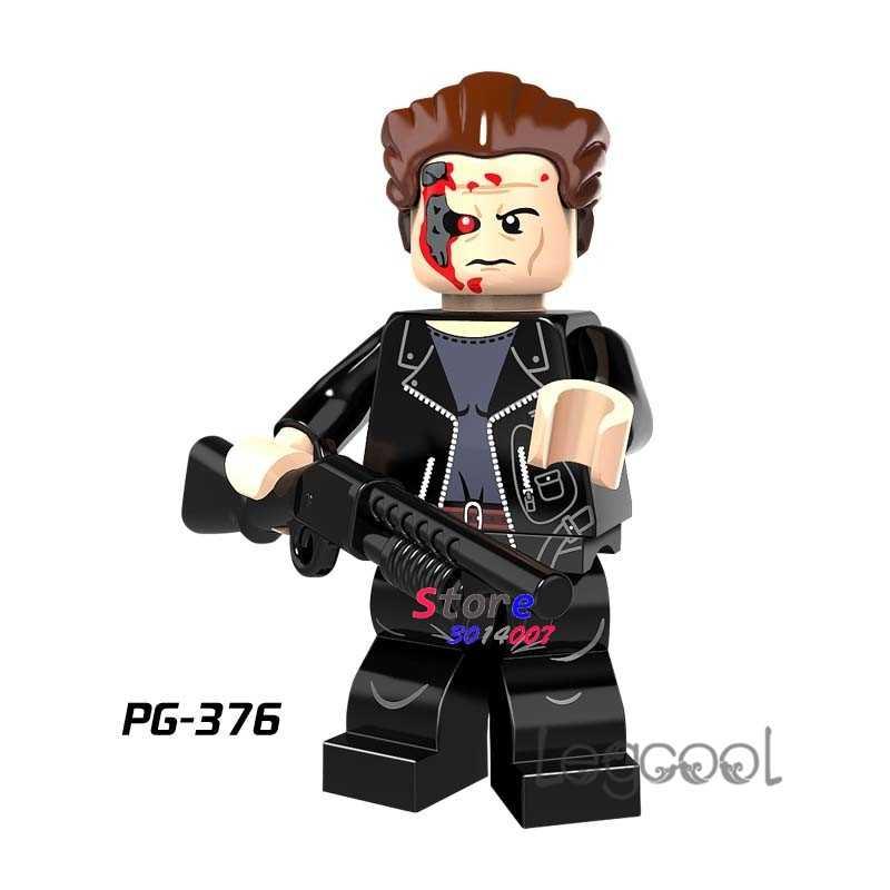 1PCS blocos de construção do modelo de ação super-heróis O Exterminador Do Futuro Série Coleção passatempo diy brinquedos para presente de crianças