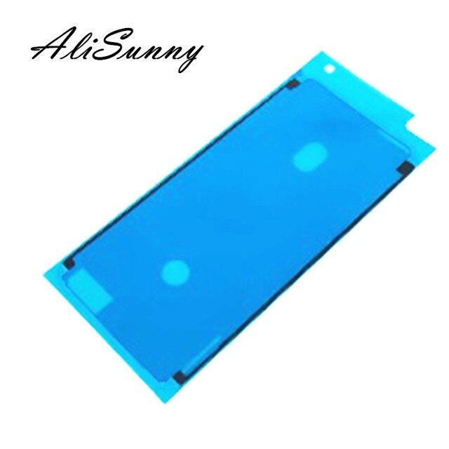 AliSunny 50pcs 방수 접착제 아이폰 7 6S 플러스 3M 스티커 아이폰 8 플러스 X LCD 화면 프레임 테이프 교체 부품