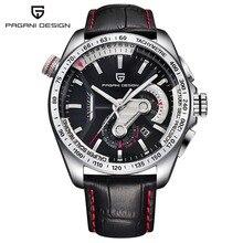 PAGANI DESIGN Mens Watches Fashion Sport Quartz Watch Dive Male Clock Chronograph Military Men Wristwatch Relogio Masculino