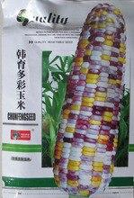 1 упак. оригинальной упаковки семена, Микс-бесплатная цвета семена кукурузы, Красочные семена кукурузы, Сад бонсай завод бесплатная доставка