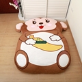 Dorimytrader Cartoon Animal Monkey Tatami Giant Stuffed Soft Beanbag Bed Carpet Mat Sofa 2 Sizes Nice Gift Free Shipping DY60843