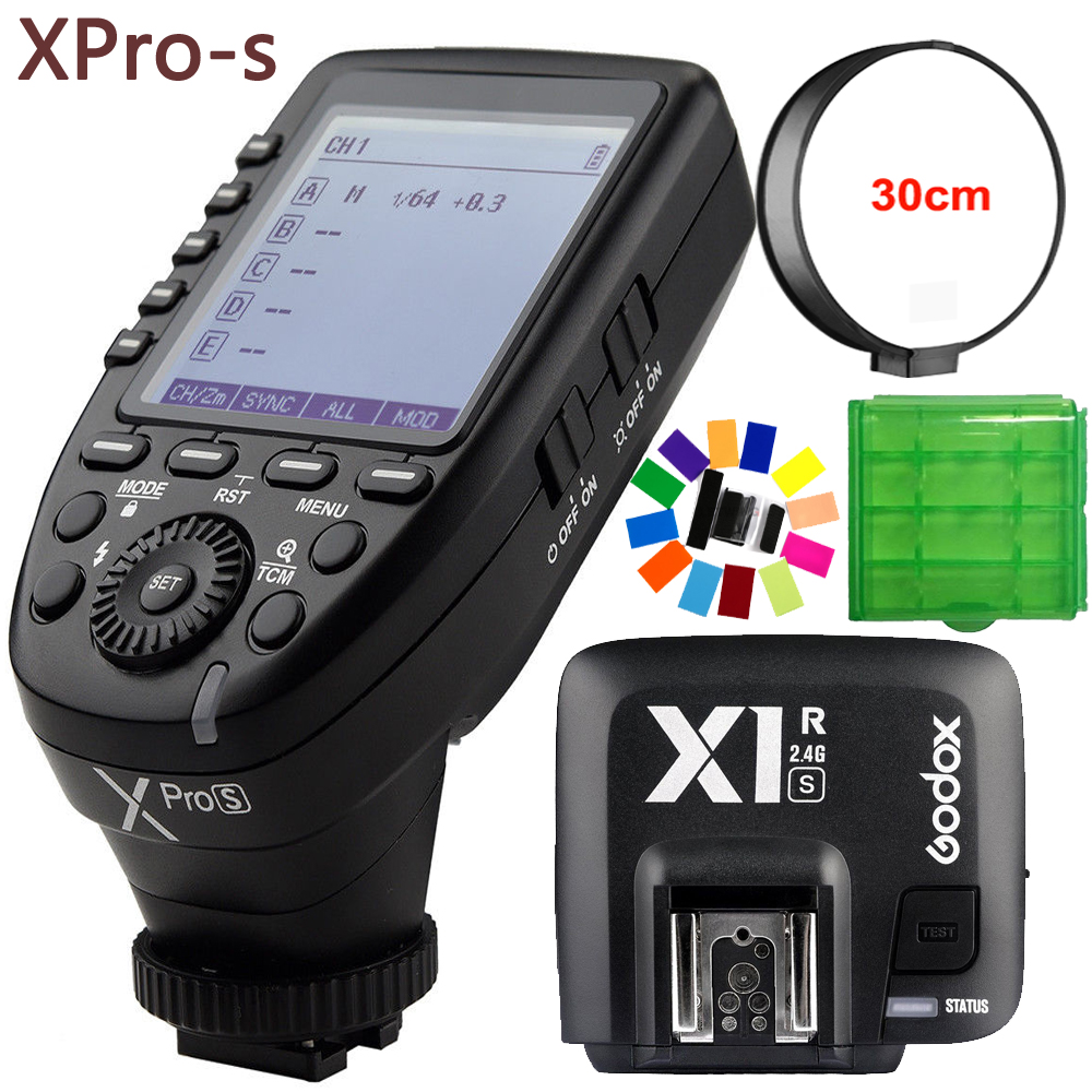 Godox Xpro S 32 Channels TTL II 2 4G X System Wireless Control Remote Trigger with