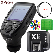 Godox Xpro-S 32 Channels TTL II 2.4G X System Wireless Control Remote Trigger with X1R-S Controller Receiver for Sony Flash DSLR цены
